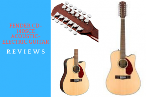 Fender CD-140SCE Acoustic-Electric Guitar Review
