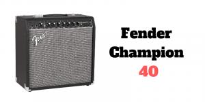Fender Champion 40 Bewertung