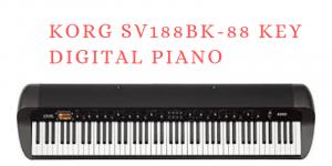 Korg SV188BK-88 Key Digital Piano Bewertung