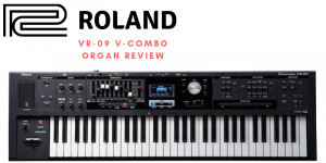 Roland VR-09 V-Combo Orgelbesprechung